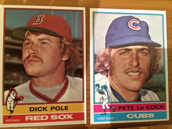 Baseball Cards From The 1976 Topps Set