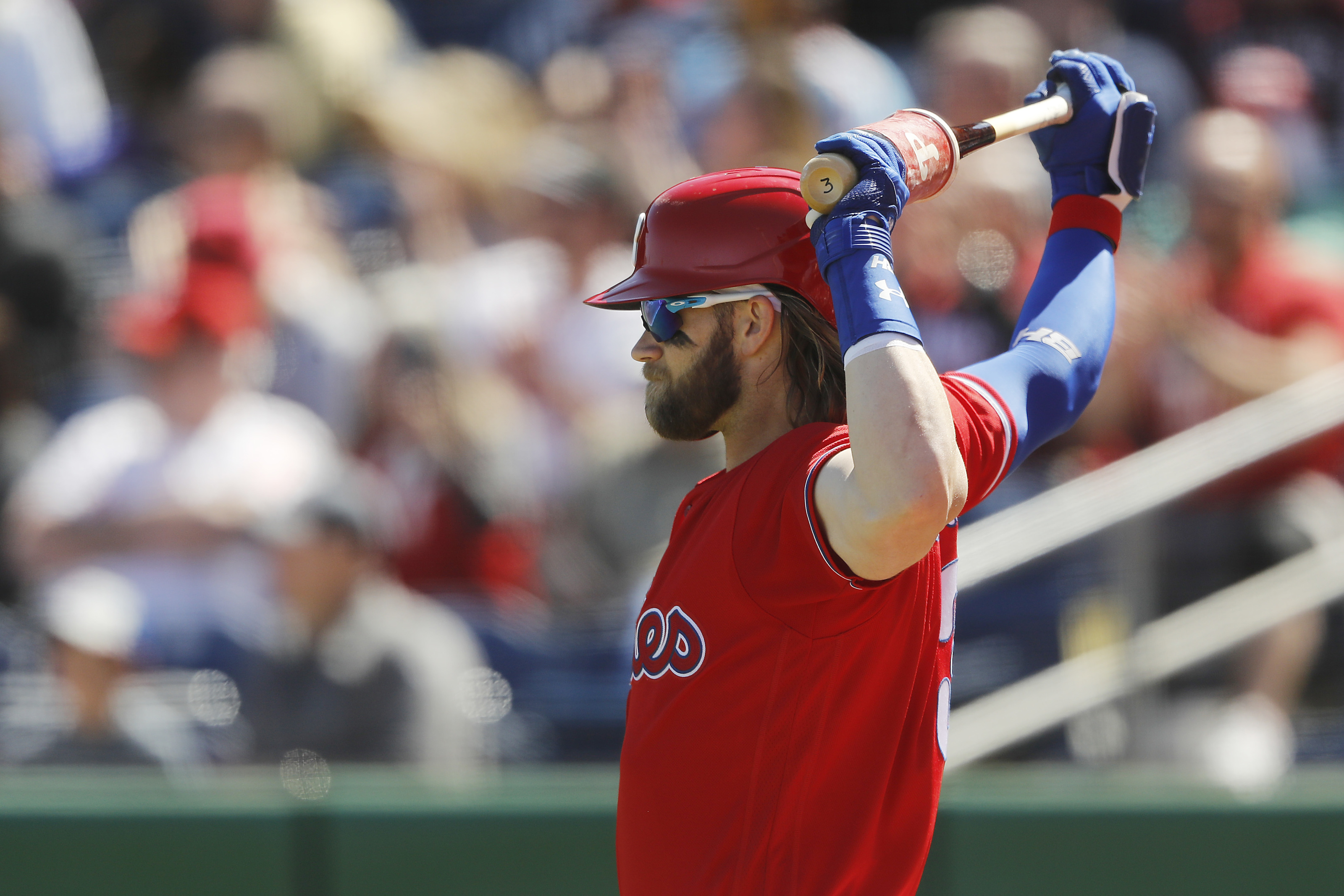 Phillies Bryce Harper reveals his all-time